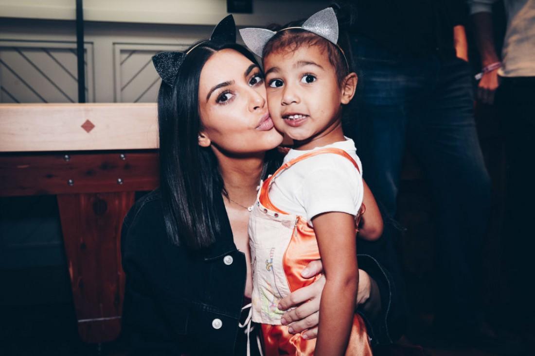 Ким Кардашян с дочкой Норт