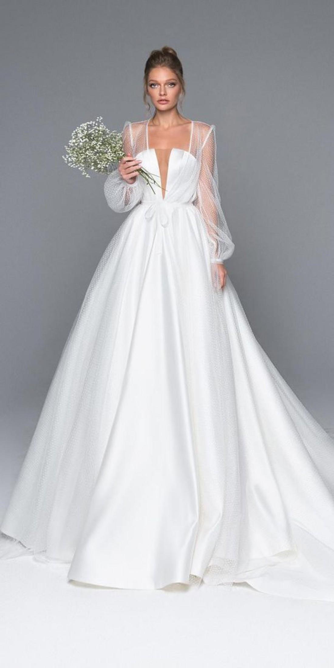 c64d2aec1e0 Модные тренды  Свадебные платья 2019 года
