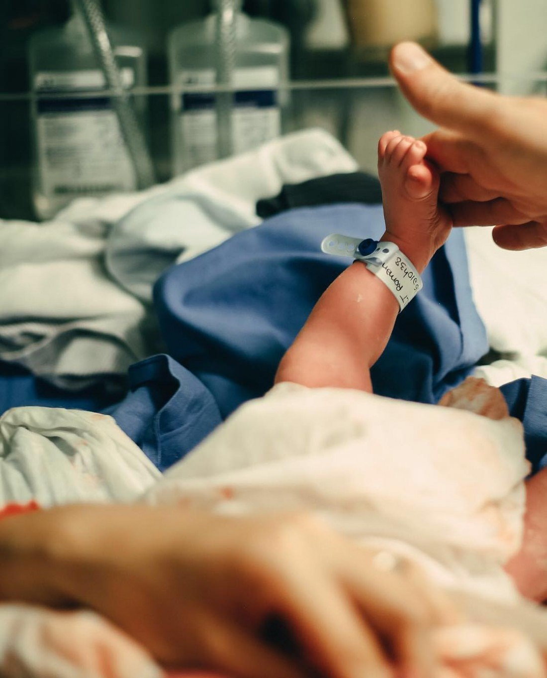 Наталья Водянова родила мальчика