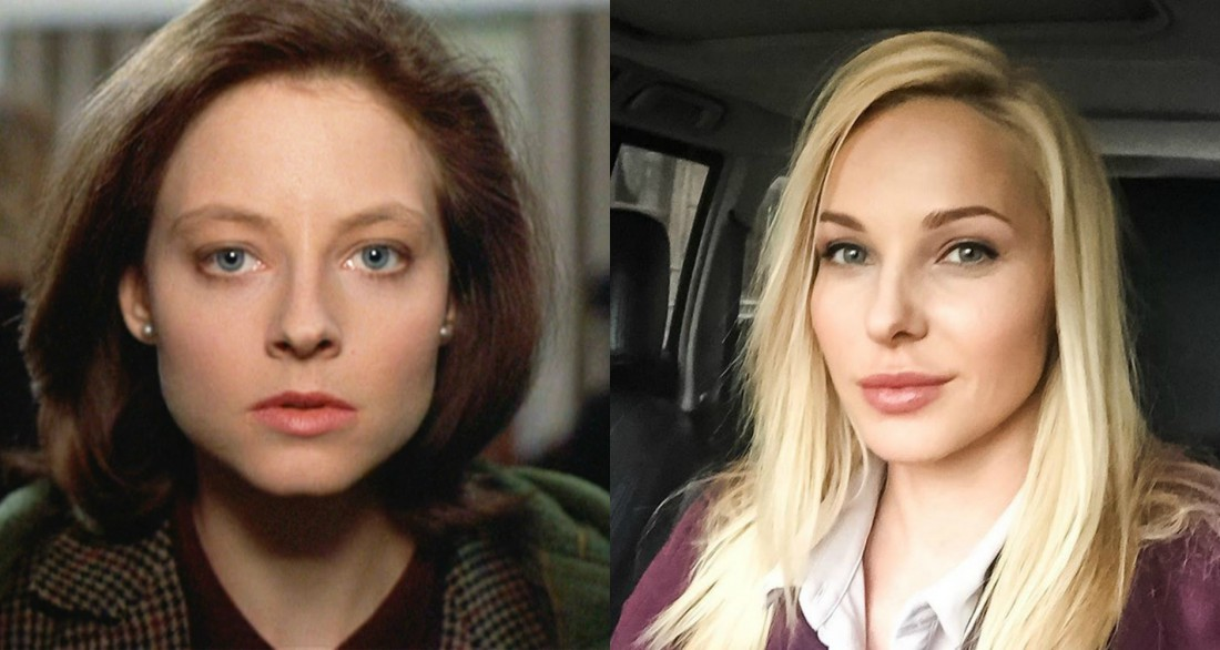 Дарья Трегубова и Кларис Старлинг (Джоди Фостер)