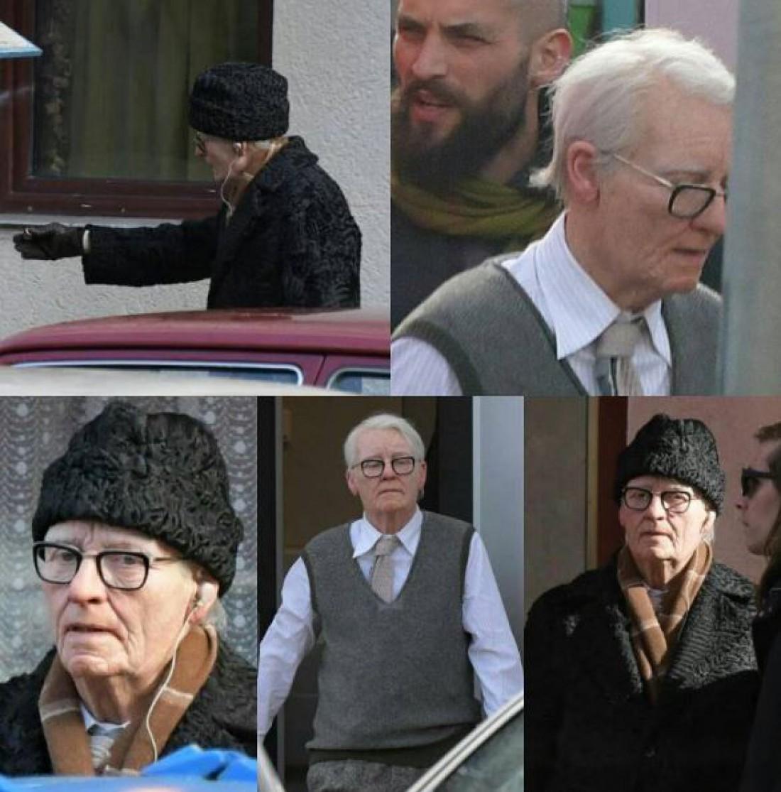 Тильда Суинтон вобразе пожилого мужчины насъемках фильма «Суспирия»— удивительное перевоплощение