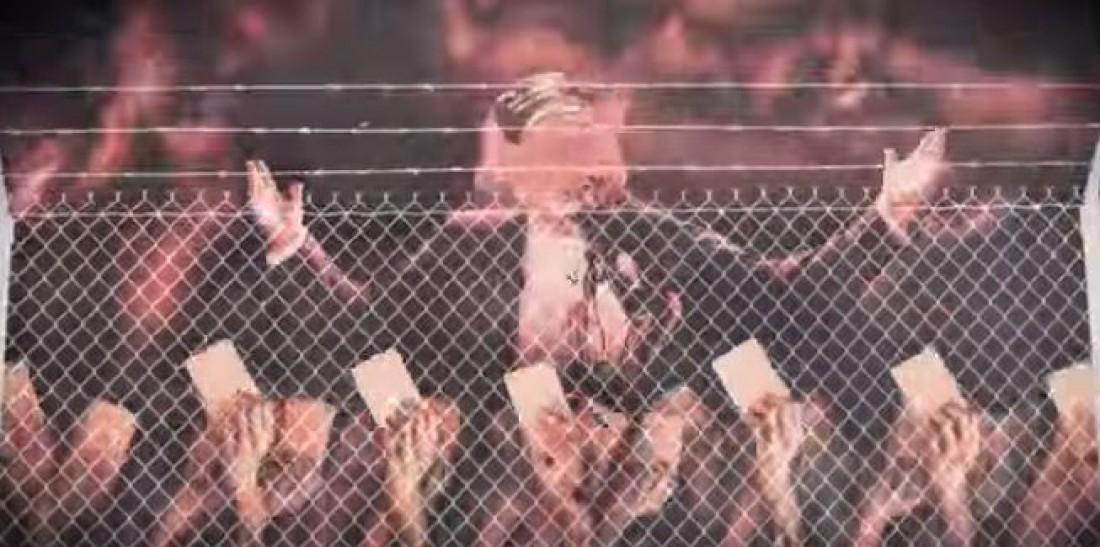 Карикатура Дональда Трампа в клипе Green Day