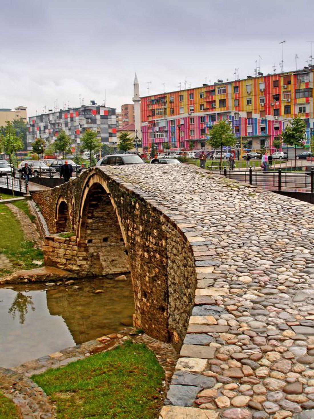Тирана - самый большой город и столица Албании