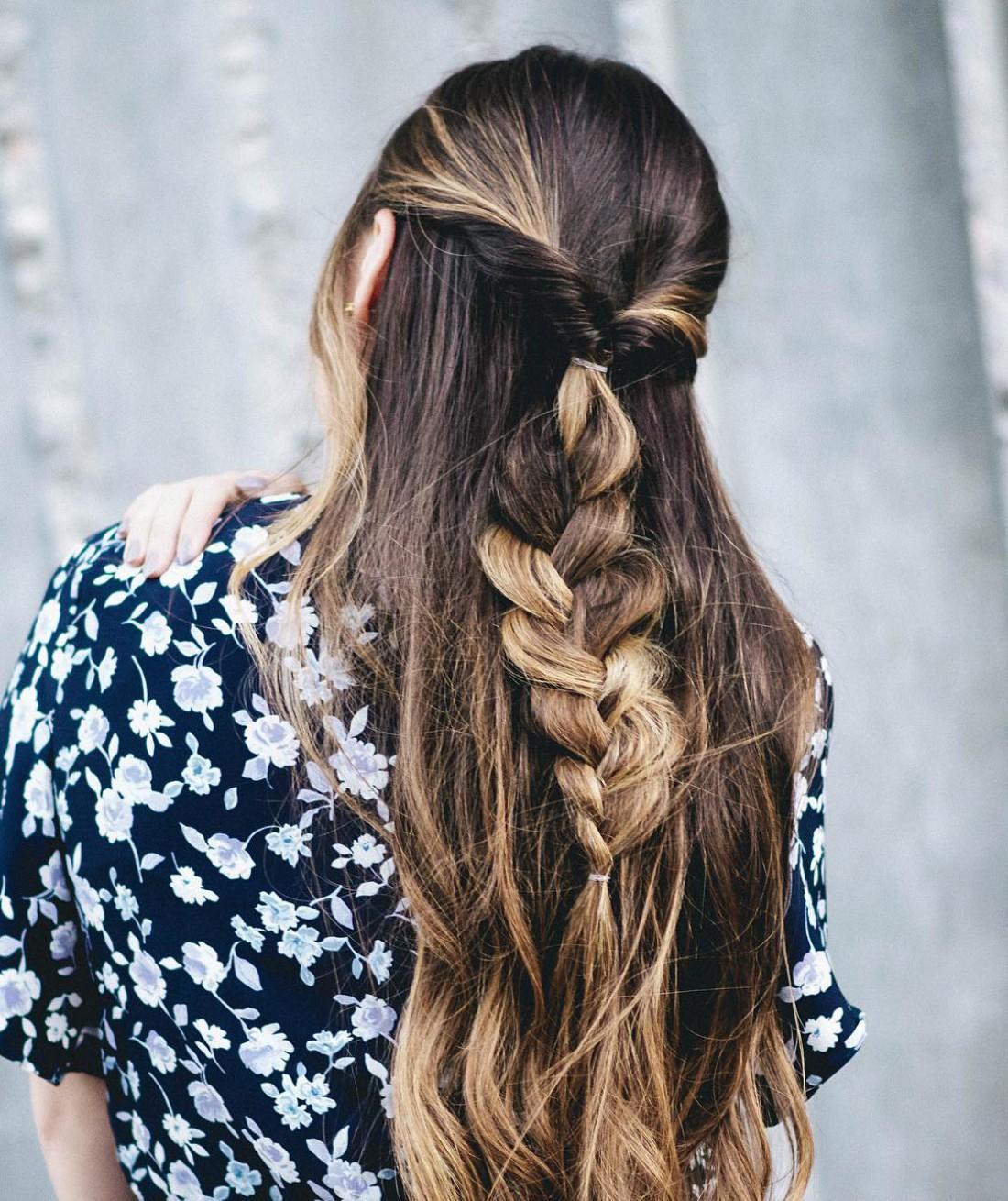 Прически с косами достойны особого внимания