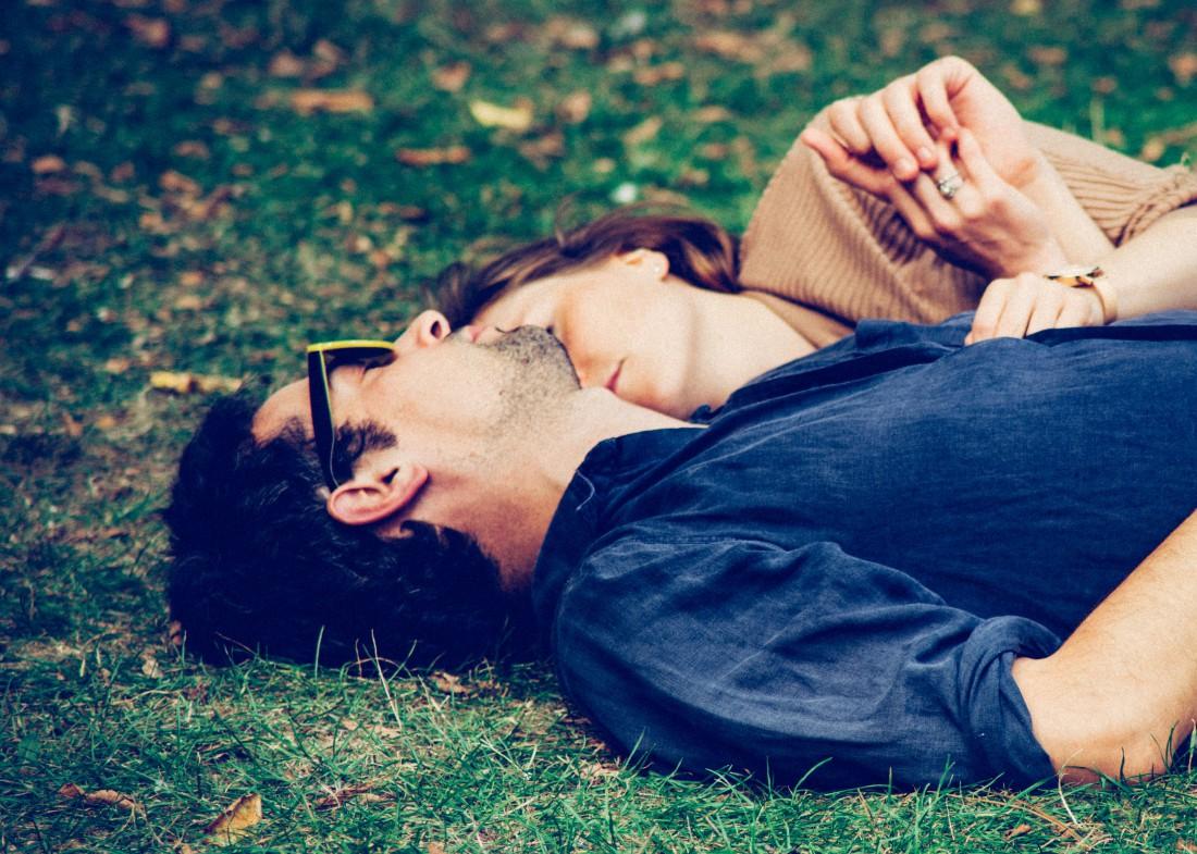 Позы сна влюбленных