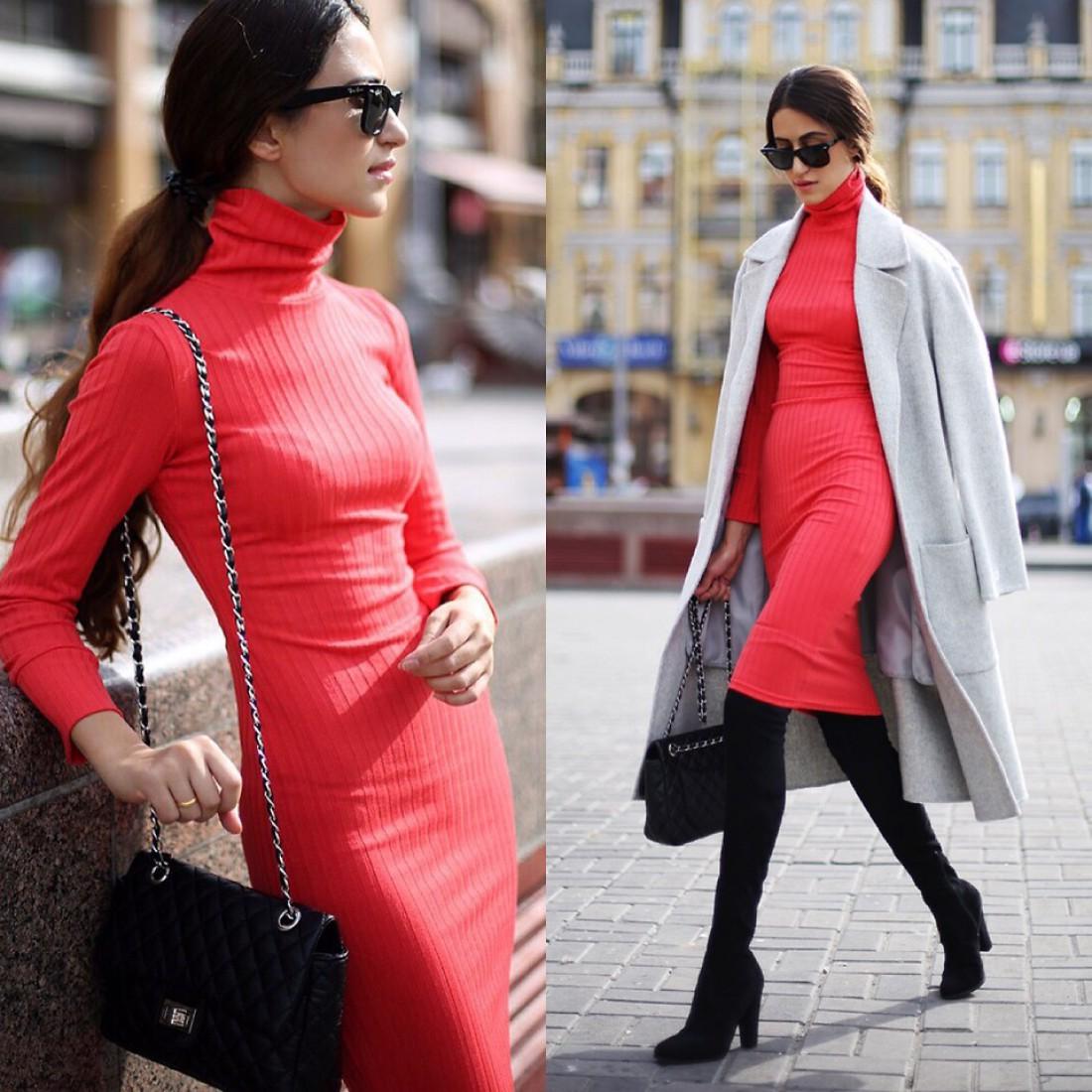 Осенние образы украинских модных блогеров