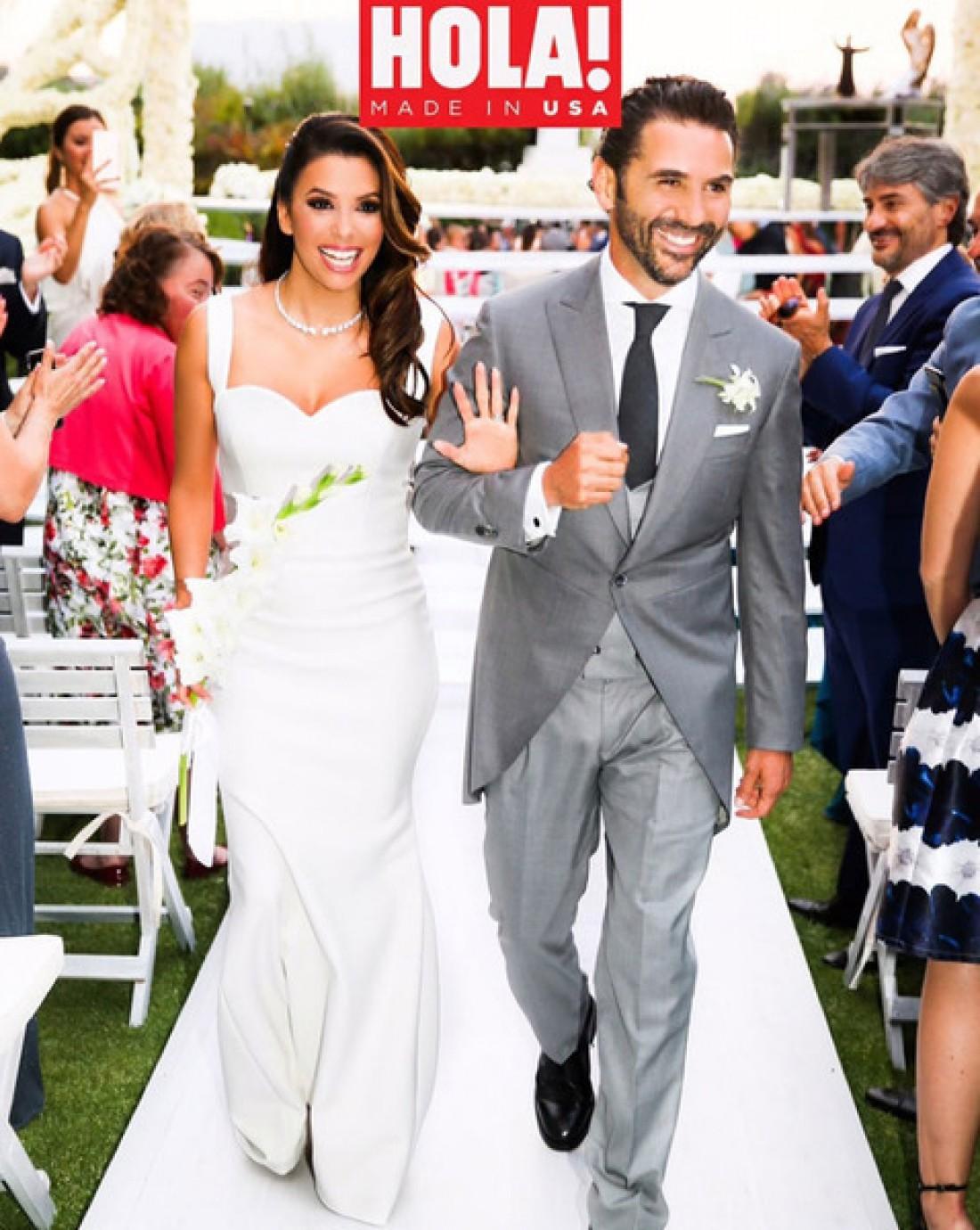 Первый кадр со свадьбы Евы и Хосе