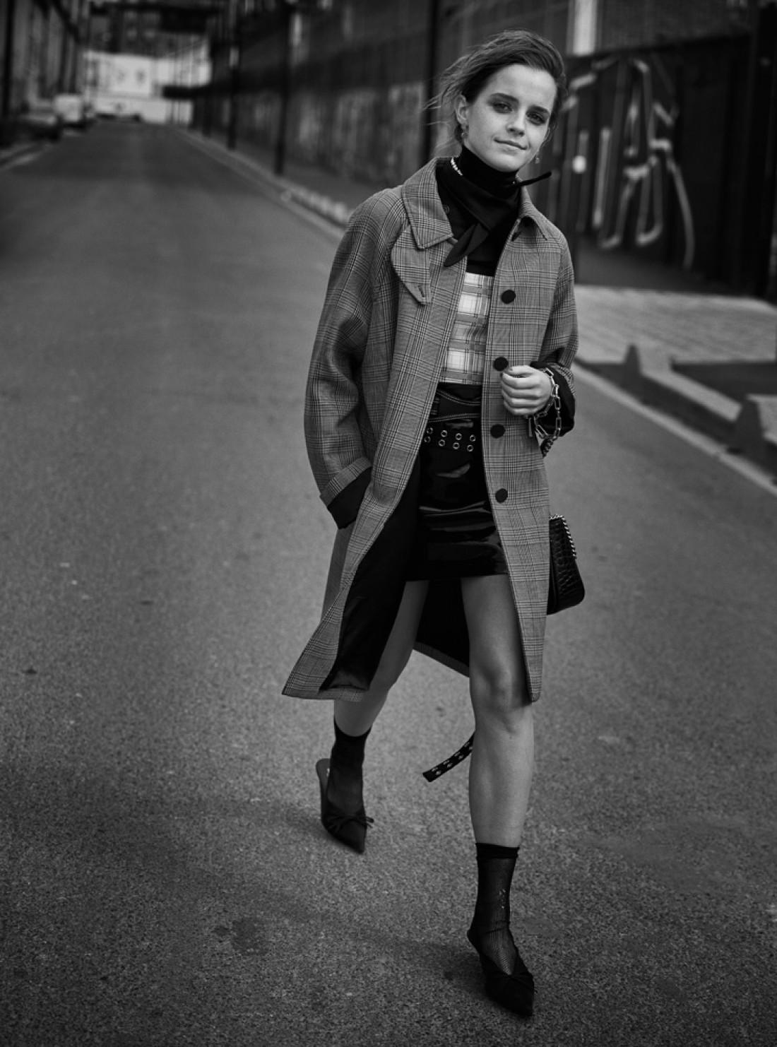 Эмма Уотсон в свежем фотосете для Interview