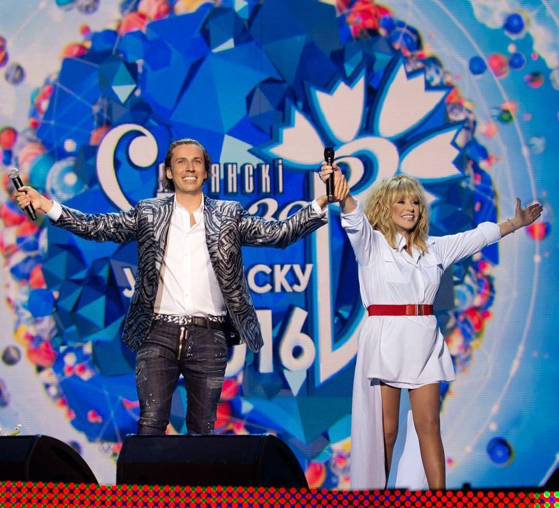 Максим Галким и Алла Пугачева
