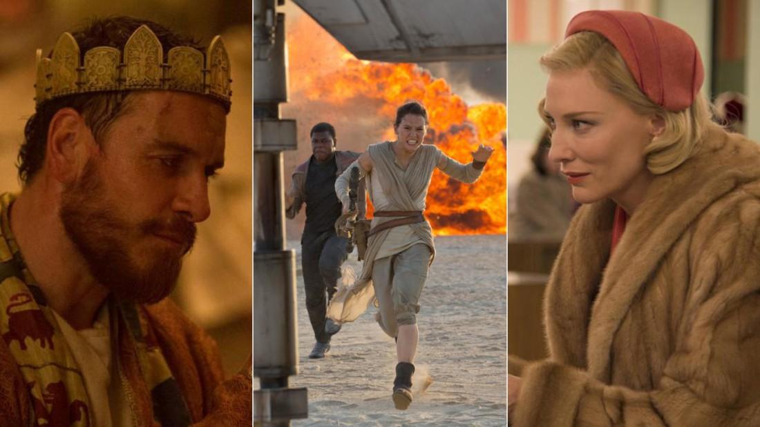 Лучшие фильмы 2015 года