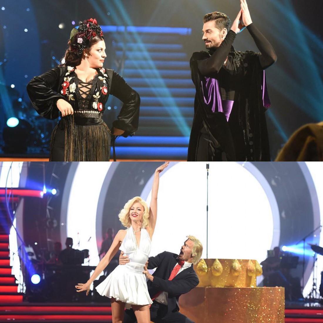 Танці з зірками 2017: Наталья Холоденко и Виталий Загоруйко, Оля Полякова и Степан Мисюрка