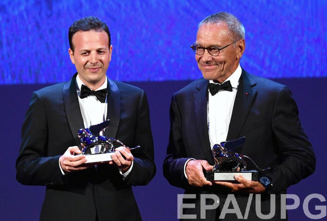Андрей Кончаловский (справа) на 73-м Венецианском кинофестивале