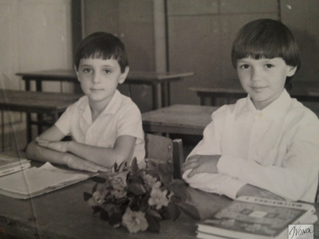 Виталий Козловский (слева)