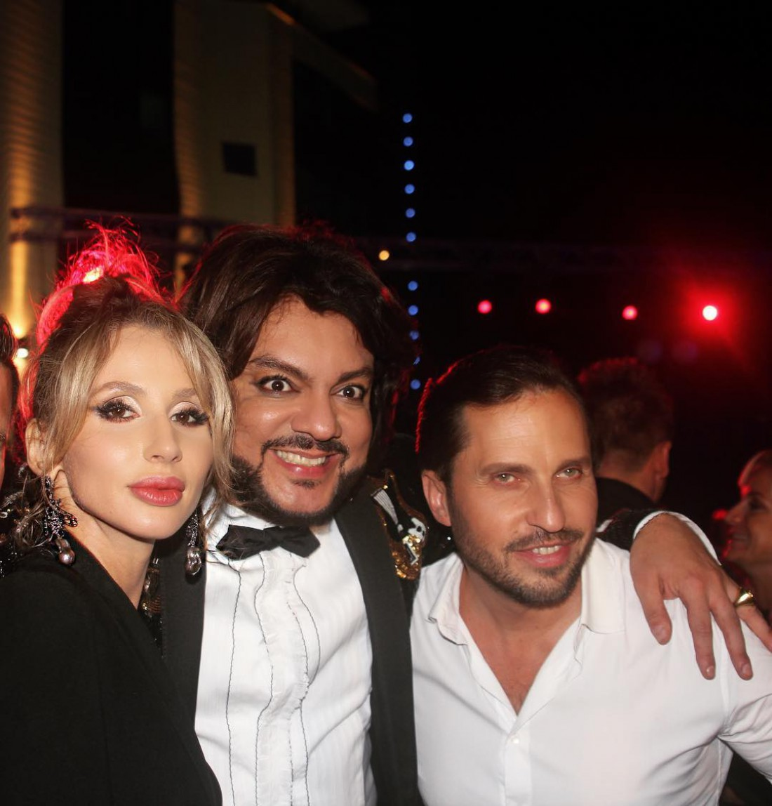 LOBODA с Филиппом Киркоровым и Александром Реввой в Сочи