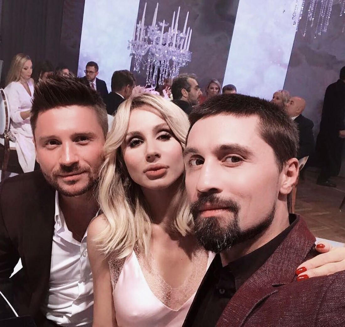 Сергей Лазарев, LOBODA и Дима Билан
