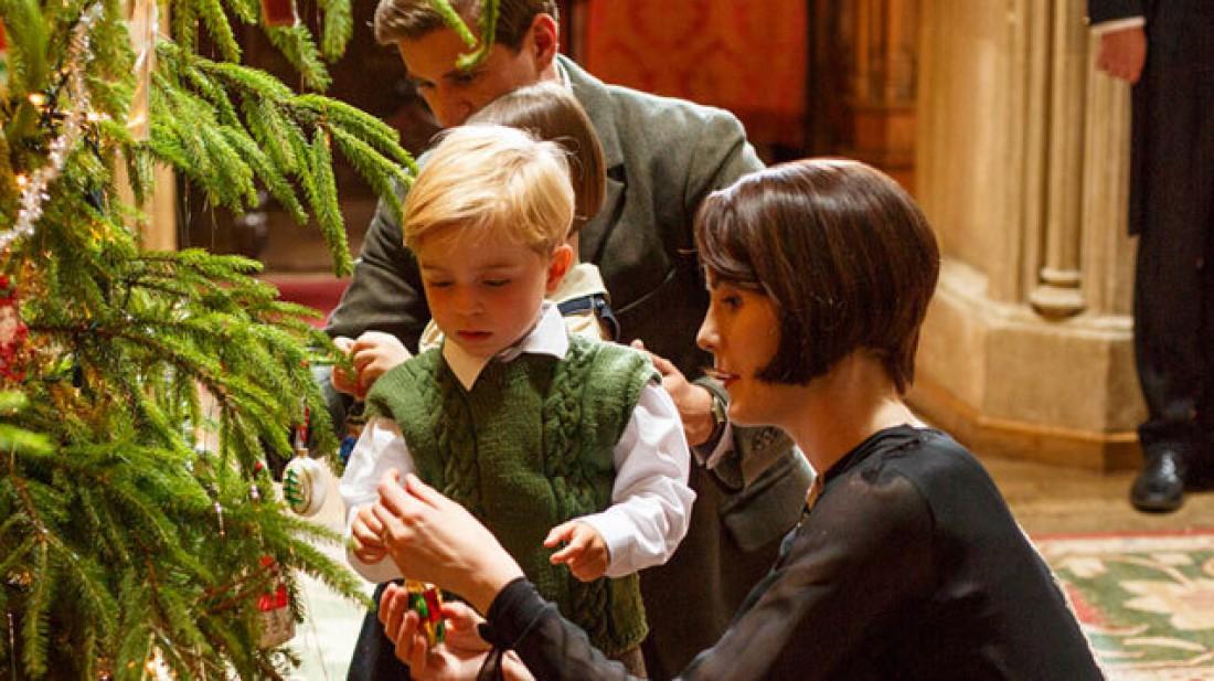 Появилась заключительная рождественская часть Аббатства Даунтон