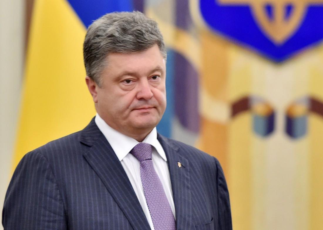 Петр Порошенко – президент Украины