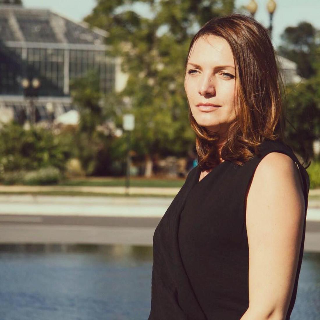 Украинская журналистка Мирослава Гонгадзе