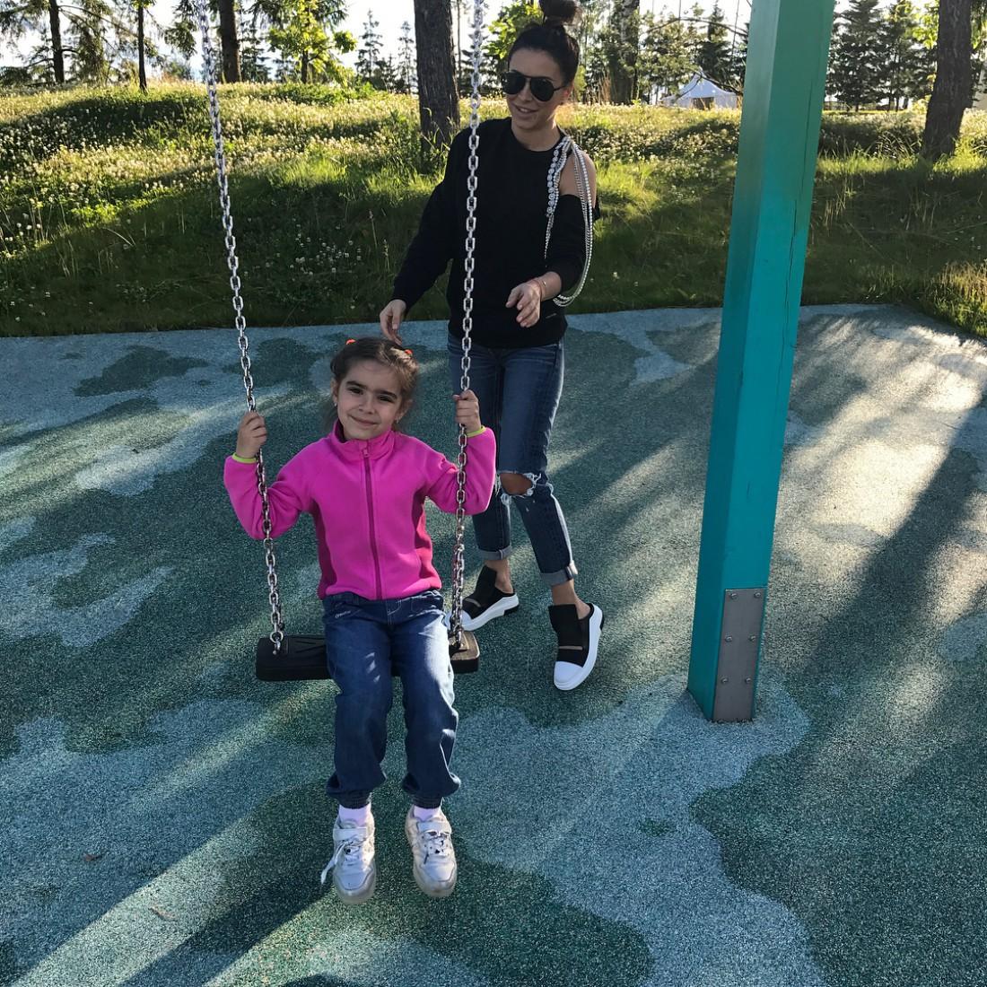 Ани Лорак с дочкой Софией
