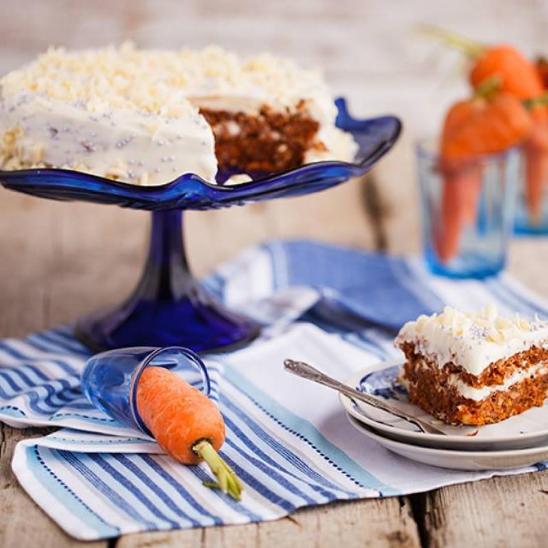 Морковный торт от Эктора