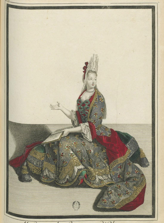 Графиня Д'Олон в мюлях