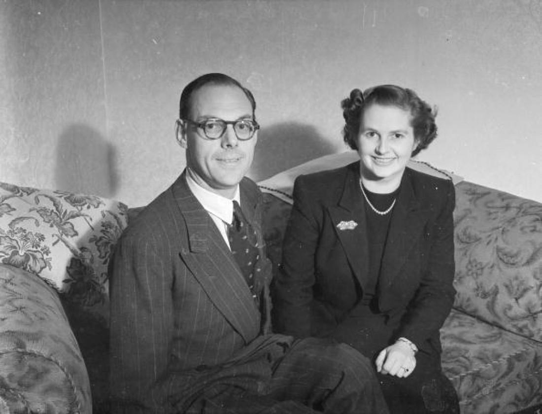 Маргарет и Дэнис Тэтчер