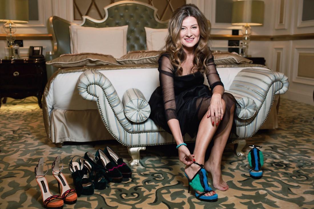 Жанна Бадоева презентовала первую линейку обуви