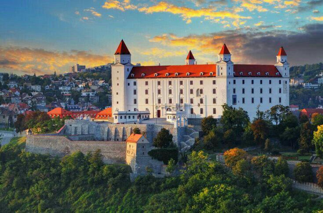 Крепость Братиславский град