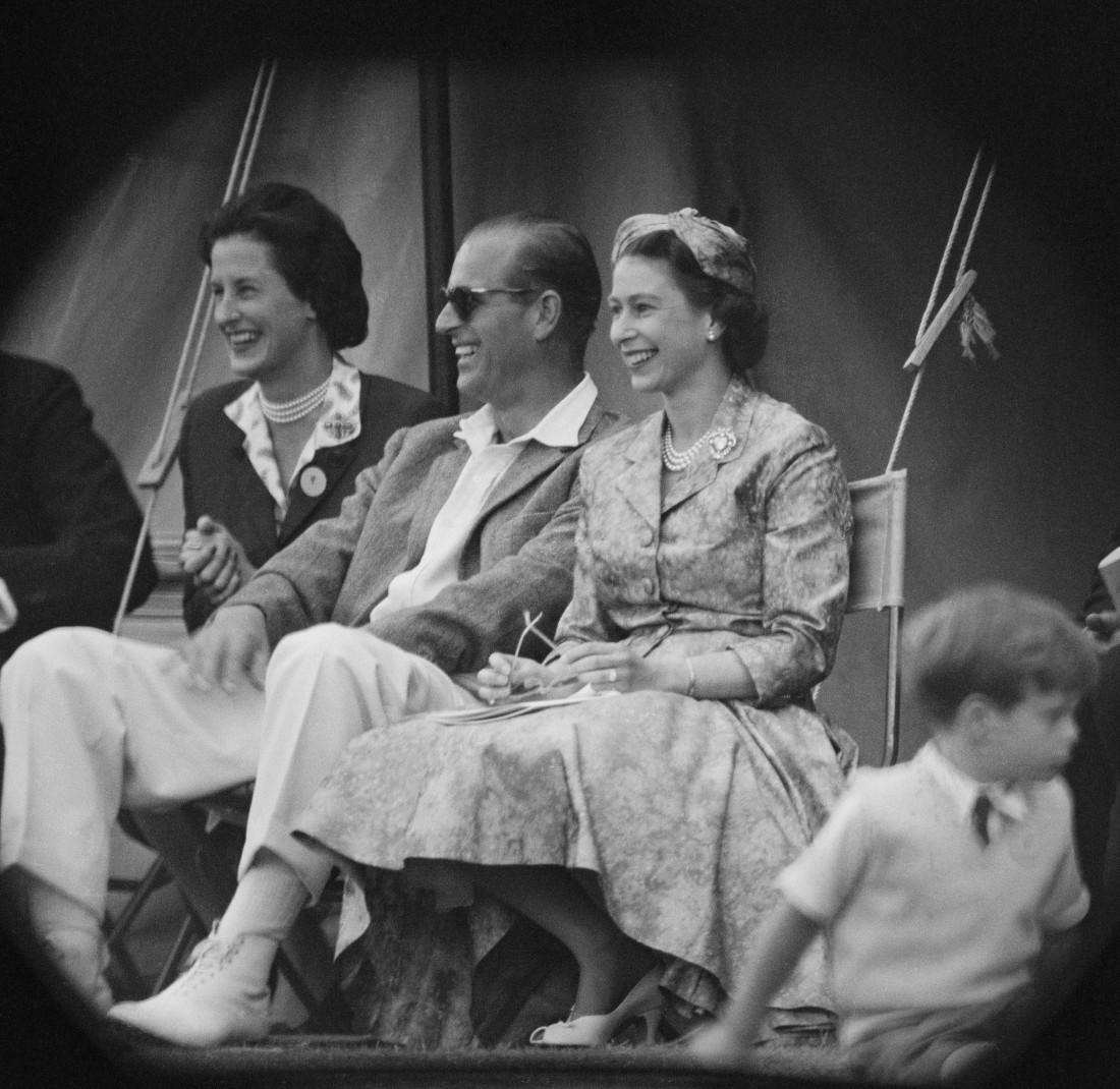 Елизавета ІІ и принц Филипп, герцог Эдинбургский. 1958 год