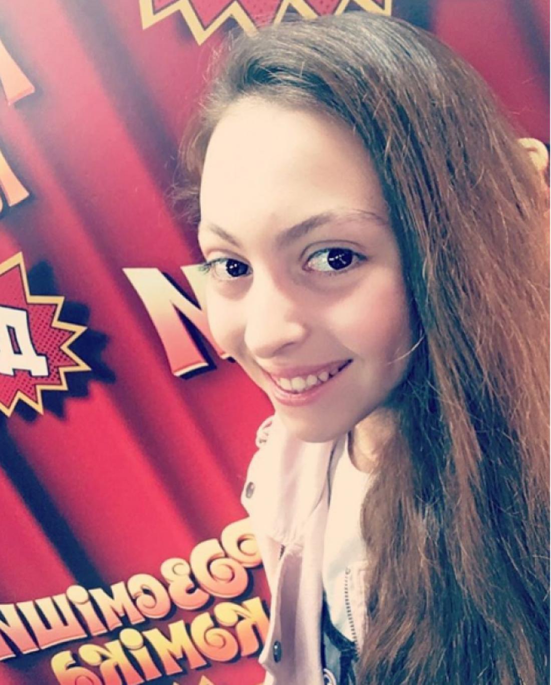Дочь Оли Поляковой Маша