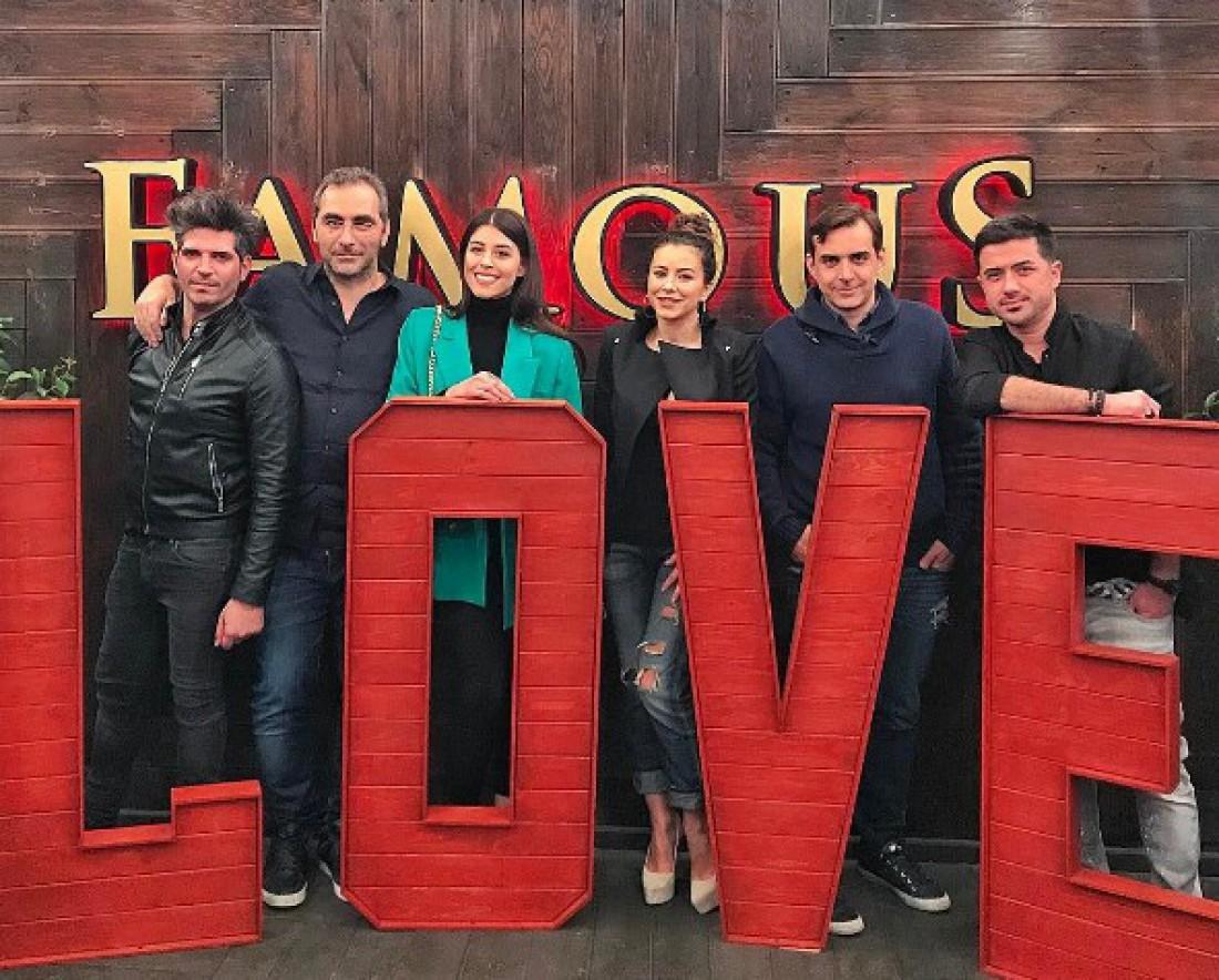 Евровидение 2017: Деми, Ани Лорак с мужем и друзьями