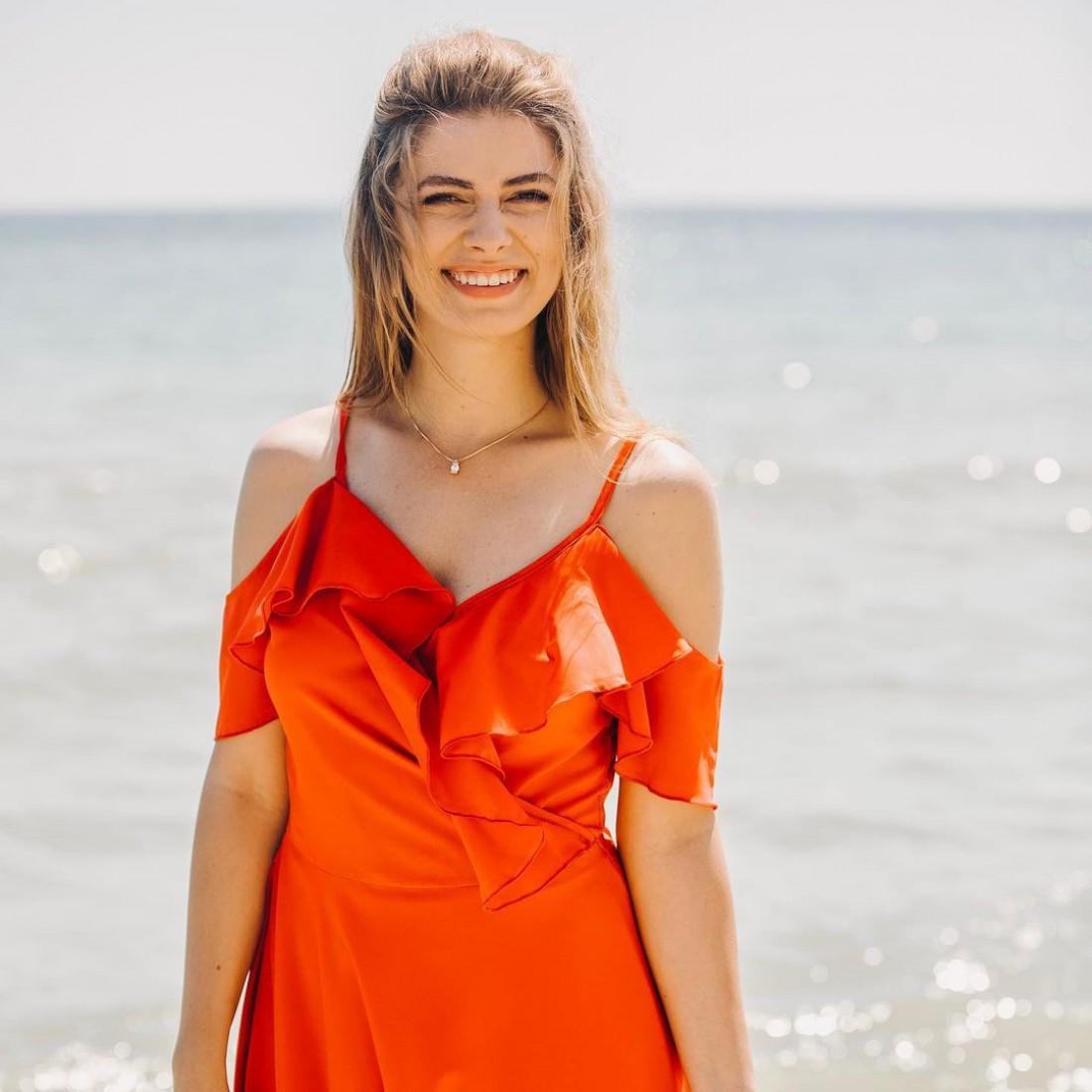 Дарья Петрожицкая поделилась ярким кадром из Черноморска