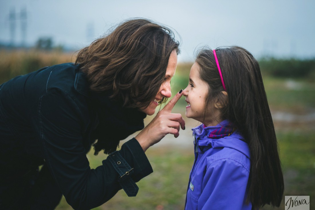 Аня Довгаль воспитывает шестилетнюю дочь Полину