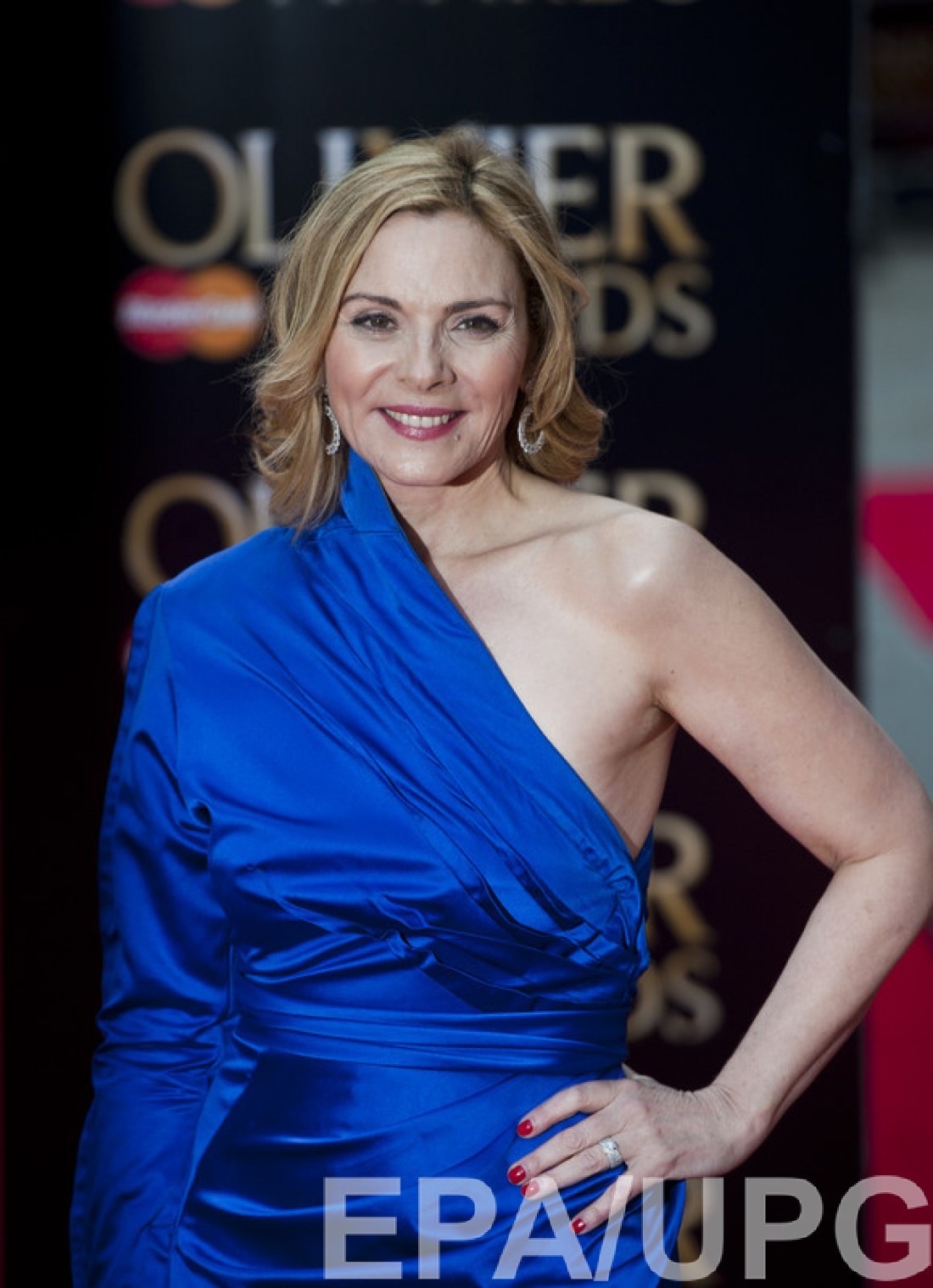 Ким Кэтролл на The Olivier Awards, 2013 год