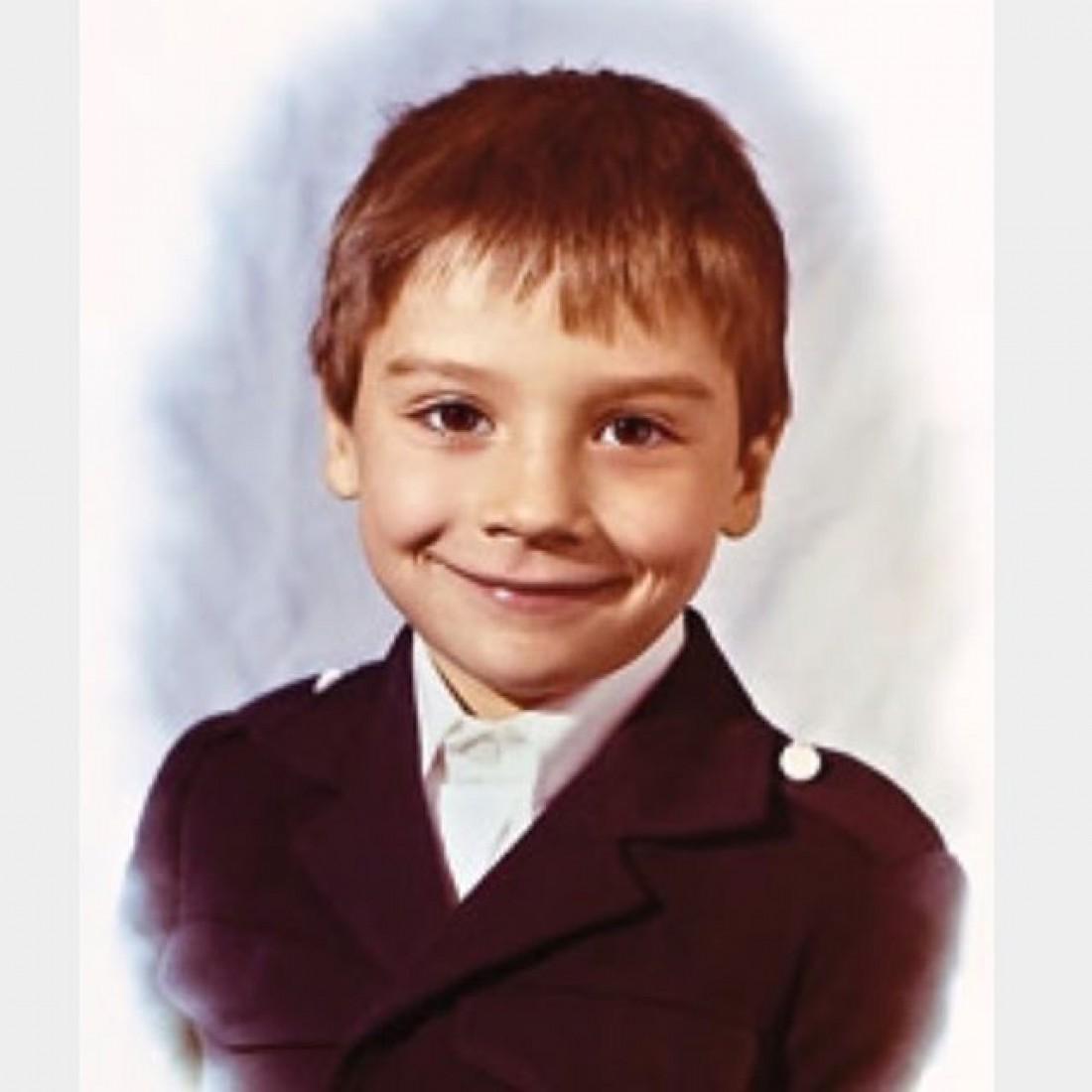 Лазарев в детстве