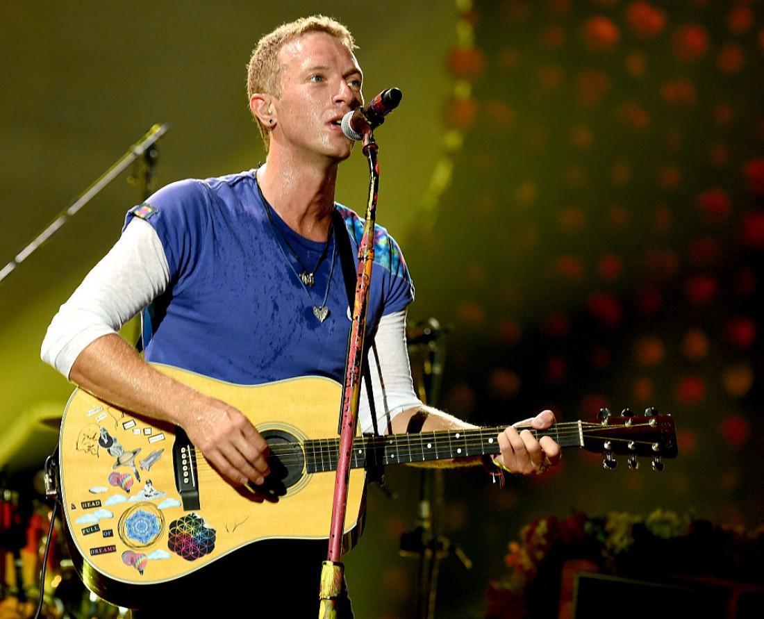 Солист группы Coldplay Крис Мартин