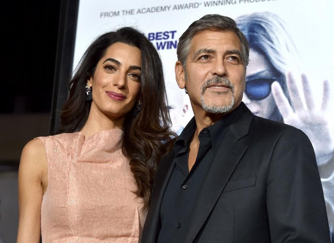 Амаль Алламудин и Джордж Клуни
