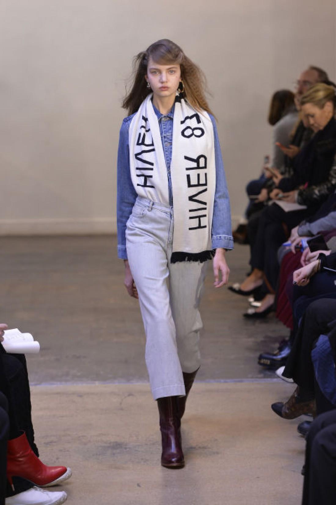 Стильные варианты, как носить деним весной 2017