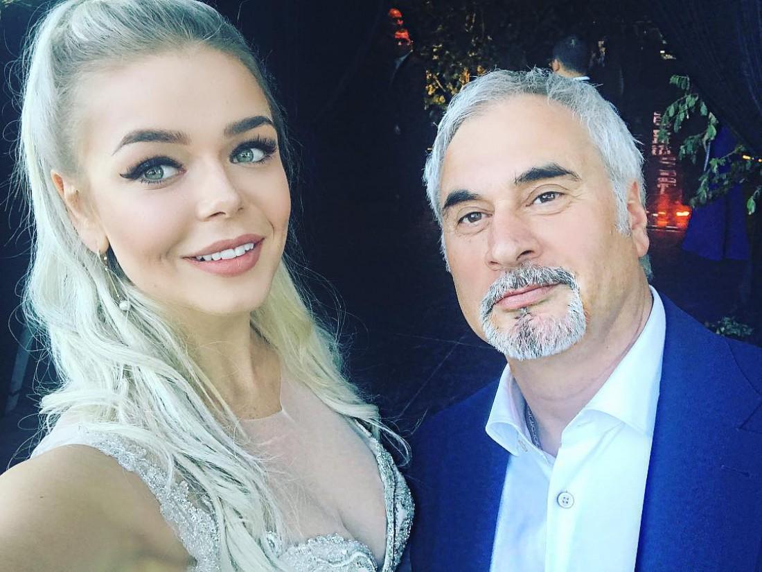 Алина Гросу и Валерий Меладзе