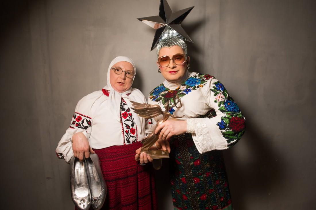 Верка Сердючка с мамой