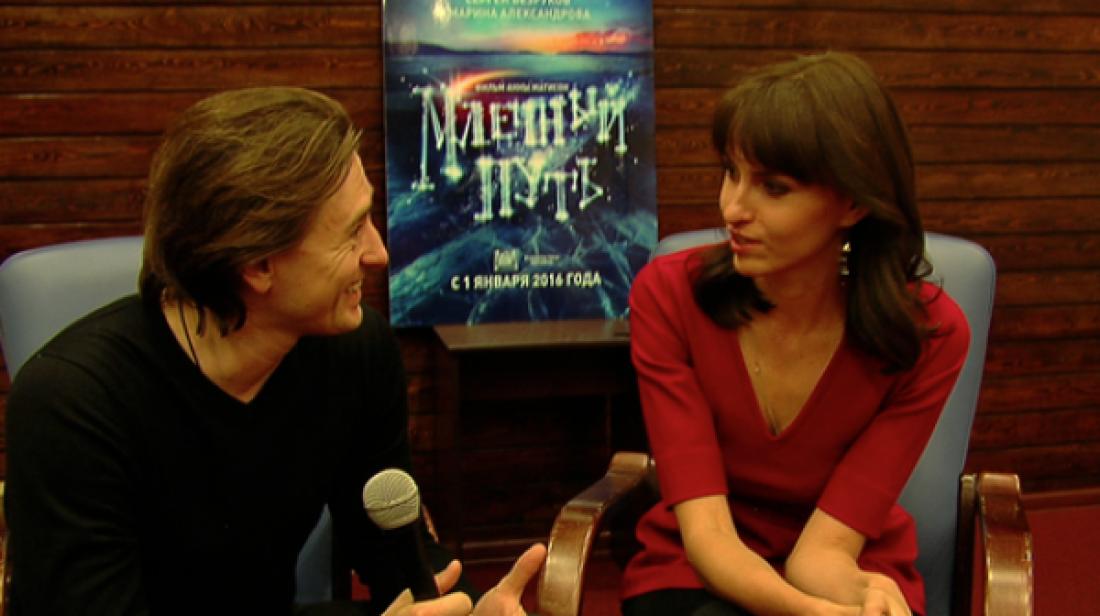Сергей Безруков с Анной