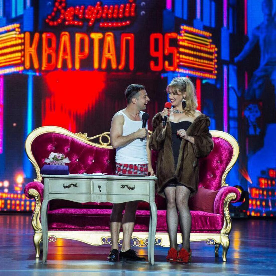 Владимир Зеленский и Елена Кравец