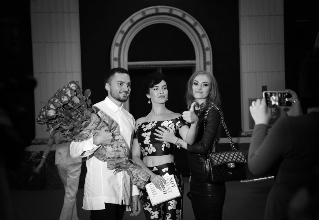 Эдгар Каминский с Дашей Астафьевой и Славой Каминской
