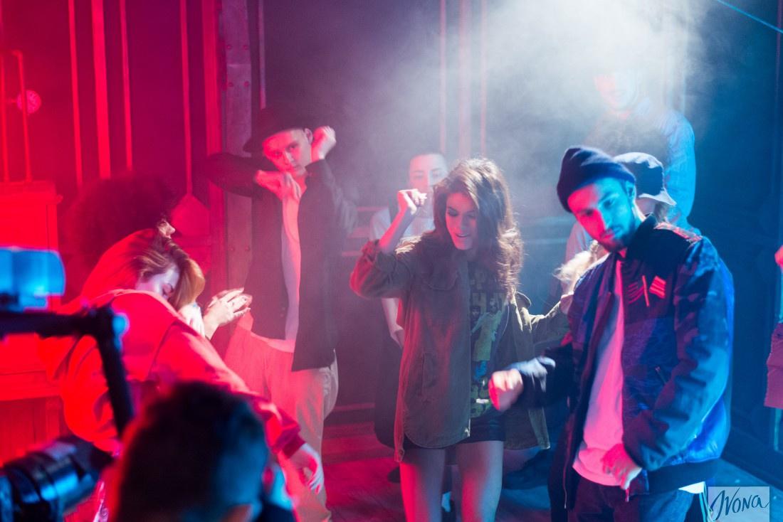 Съемки клипа Michelle Andrade и группы Mozgi на песню Amor