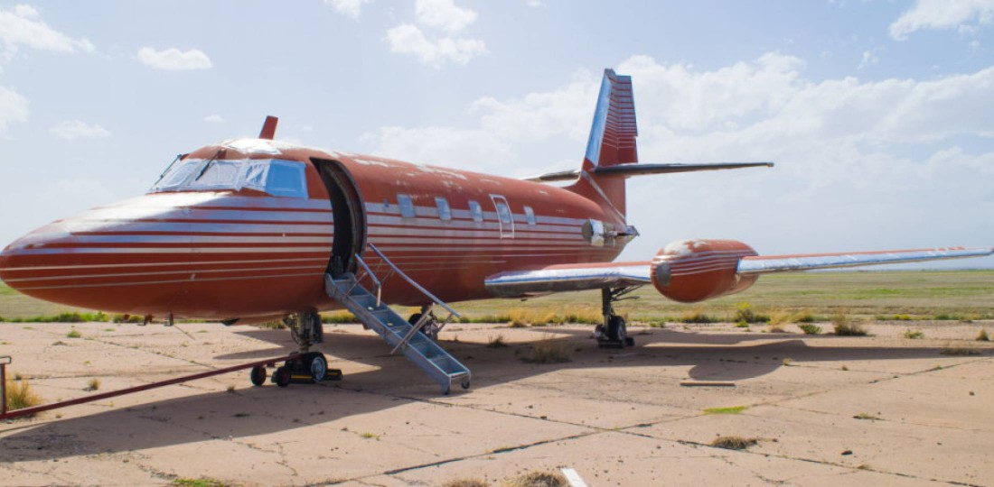 Самолет Элвиса Пресли Lockheed Jetstar