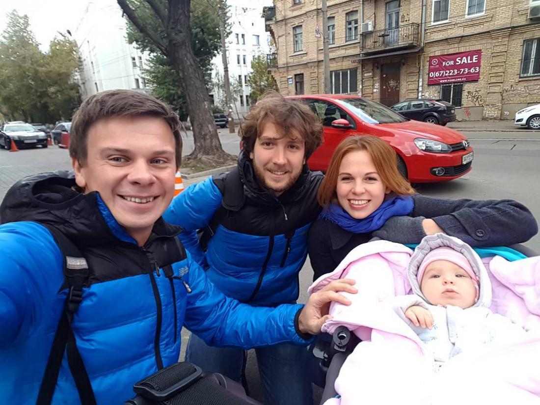 Дмитрий Комаров показал дочь Александра Дмитриева