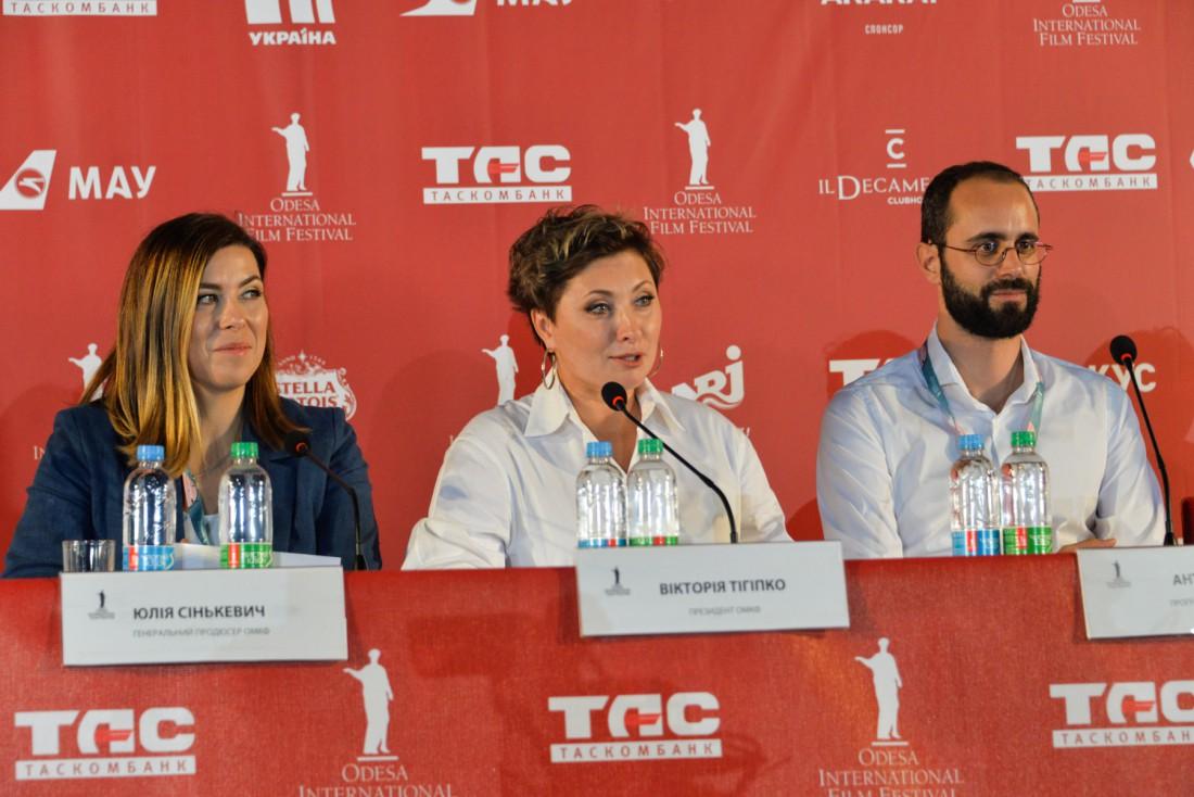 Пресс-конференция с организаторами ОМКФ 2017