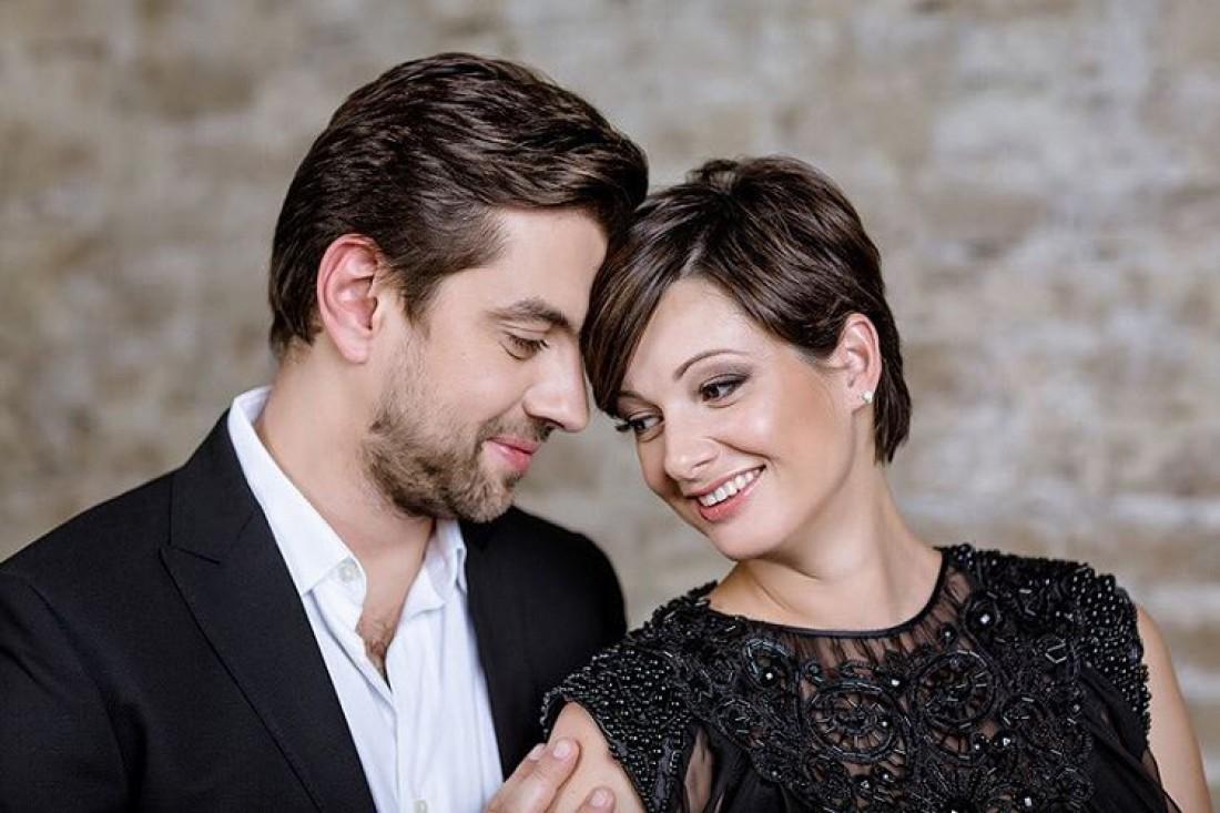 Виктория Талышинская с мужем Иваном