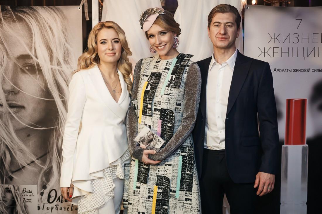 Катя Осадчая и Ольга с мужем