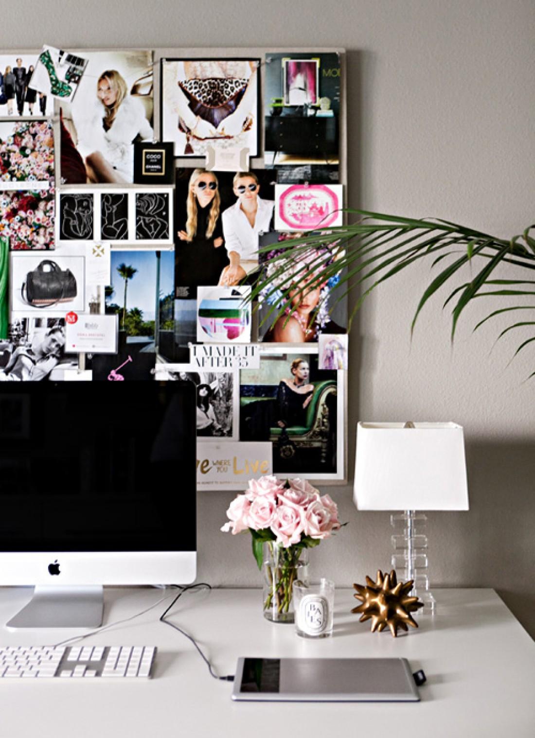 Рабочий стол: Стильные идеи для оформления